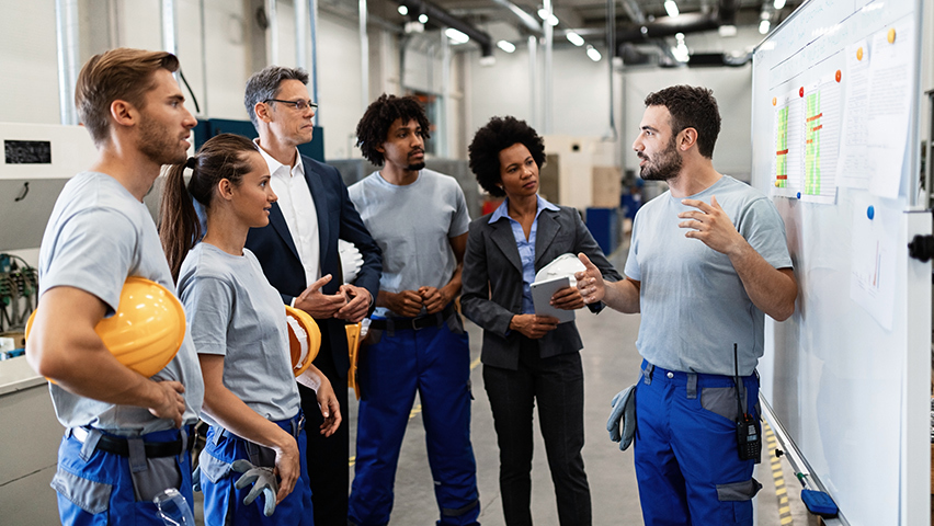 Manufacturing increase team productivity