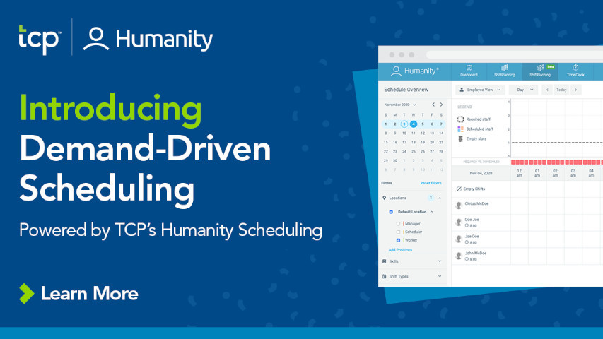 TCP Humanity Demand Driven Scheduling