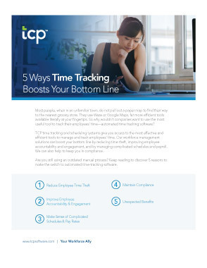 Time tracking boosts bottom line