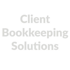 Client bookkeeping solutions