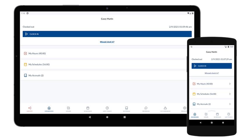 Mobile App Dashboard Widgets