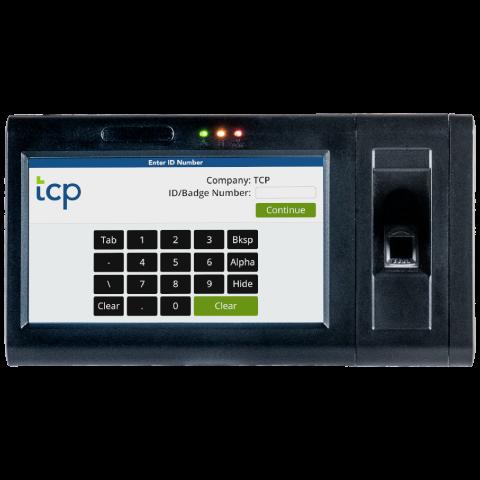 Biometric time clock square