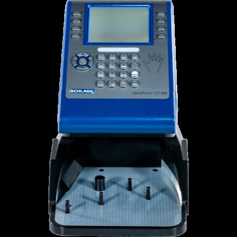 Handscanner time clock square